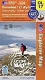 SNOWDON OS Explorer Active Map OL17