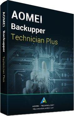 AOMEI Backupper Technician Plus - Offizieller Partner von AOMEI (Lieferung elektronisch)