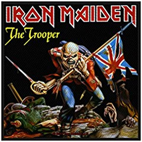 La Iron Maiden trooper-patch-woven SP2524