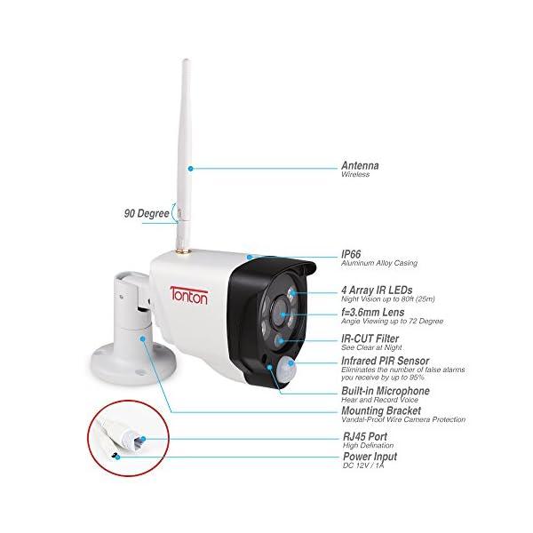 ebf3263bbe1 1080P Wireless Security Camera System