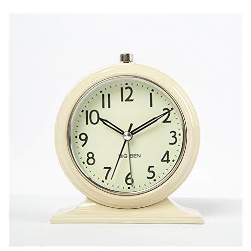 Yxx max *Reloj de Mesa Escritorio Reloj Estudiante Lado de la Cama ...
