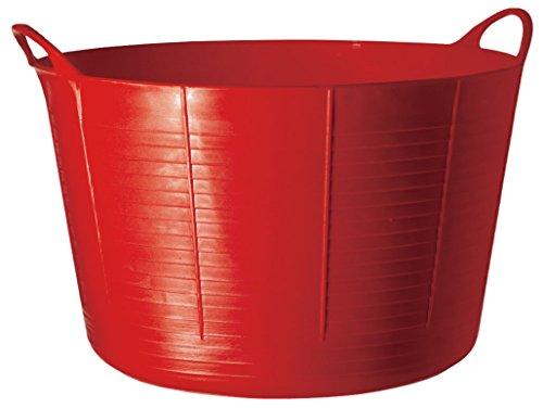 Faulk's SP75R Cubo Flexible Multiusos, Plástico, Rojo