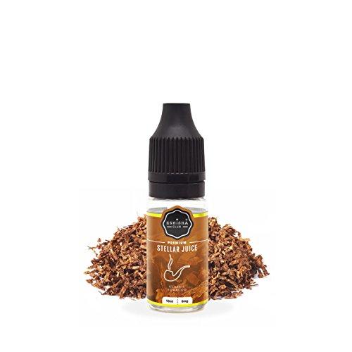 KNUQO E-liquid STELLAR Juice 10ml - Tabak-Geschmack | e-Zigarette | Wiederaufladbare Elektronische Zigarette Liquid | e Shisha | Nikotinfrei