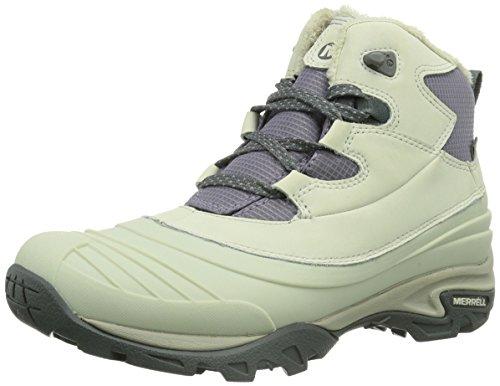 Merrell SNOWBOUND 6 WTPF Damen Trekking- & Wanderstiefel Blanc (Silver Birch)