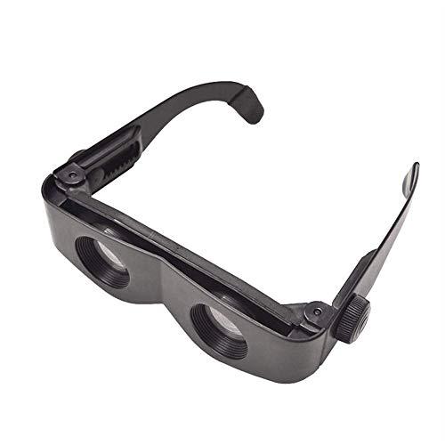 Ztoma Vergrößernd Brille, Flach Angeln -gläser mit Brille, Ferngläser Teleskop für Uhr Fußball Streichholz Outdoor Angeln Wandern - Flach