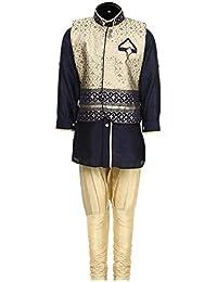 AJ Dezines Kids Kurta Pyjama and Waistcoat Set for Boys