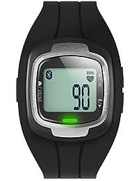 Reloj Bluetooth 4.0 inteligente (cristal de zafiro, pedometro, impermeable, anti-perdido