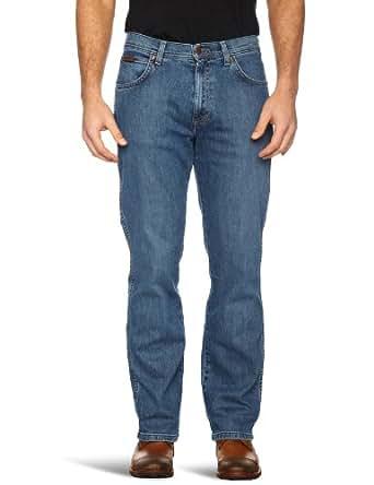 Wrangler Men's Utah Straight Leg Jeans, Blue, W33/L30