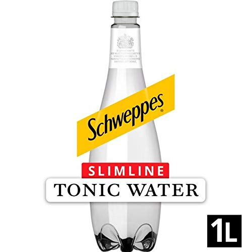 Schweppes Slimline Indian Tonic Water 1 Litre x Case of 12