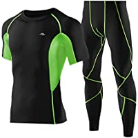Mens Cycling Clothing Sets Bicycle Pants Casual Outdoor Running Clothes Classic Quick Dry Breathable Short