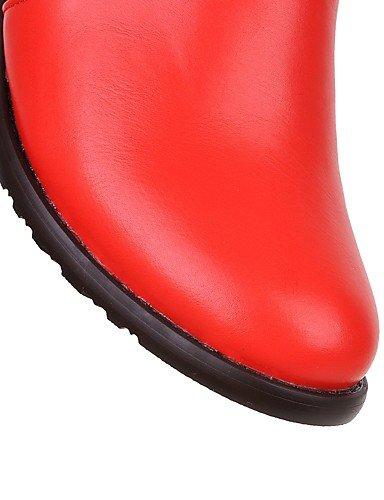 ShangYi Mode Frauen Schuhe Damenschuhe Stiefel Stiefel Schuhe Mode / Outdoor / Büro & Karriere / Casual Ferse OthersBlack Schwarz