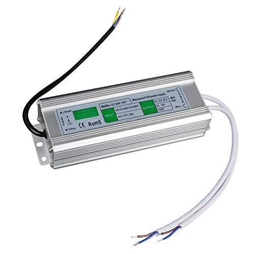 LED Transformator 120W/10A Trafo. Netzteil Adapter Driver für Stripe 230V auf DC 12V -