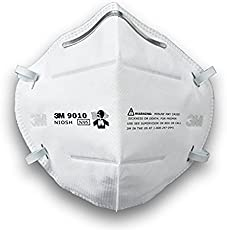3M 9010 N95 PM2.5 Anti Pollution Mask, Pack of 1,White