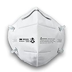 3M 9010 N95 Particulate Respirator, Pack of 1