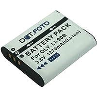 Dot.Foto Batterie de qualité pour Olympus LI-90B, LI-92B - 3,6v / 1270mAh - garantie de 2 ans - Olympus SH-1, SH-2, SH-50, SH-60, SP-100EE, TG-1, TG-2, TG-3, TG-4, TOUGH TG-Tracker, XZ-2