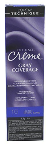 loreal-excellence-creme-permanent-hair-color-lightest-natural-blonde-no10-174-ounce-by-loreal-paris