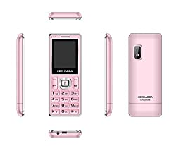 Kechaoda K117 available with camera Dual Sim Mobile Phone (RoseGold)