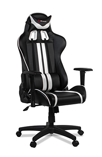Arozzi Gaming Silla Mezzo Negro/Blanco
