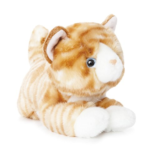 Aurora World 11-Inch Luv to Cuddle Tabby Cat Plush (Orange)
