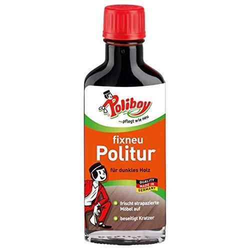 Poliboy fixneu Politur für dunkles Holz, 100 ml