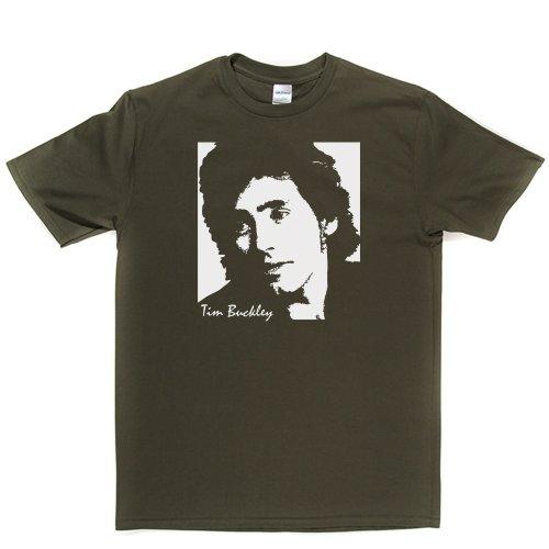 Tim Buckley American Singer Musician Folk Rock US T-shirt Militärgrün
