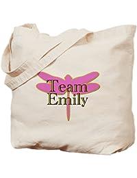 CafePress - Team Emily Gilmore Girls - Natural Canvas Tote Bag, Cloth Shopping Bag