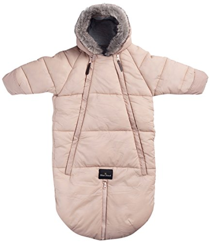 Baby Overall - Powder Pink 6-12m