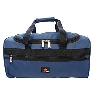 Bolsa de Viaje Pequeña – 2º Artículo de Equipaje de Mano en Ryanair – Bolsas de Viaje Fabricada con el Tamaño Exacto de 40 x 25 x 20 cm – Bolso de Cabina – Super Ligero 0,4 kg RL59N (Azul)
