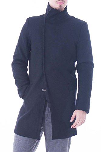ONLY & SONS - Cappotto uomo trench nero oscar coat xs nero