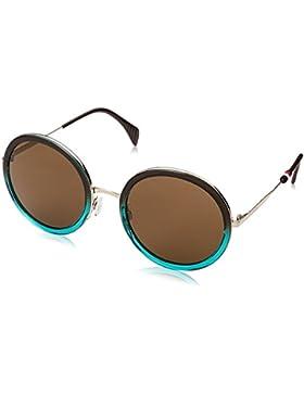 Tommy Hilfiger Unisex-Erwachsene Sonnenbrille TH 1474/S 70, Schwarz (Brwnshadegre), 53