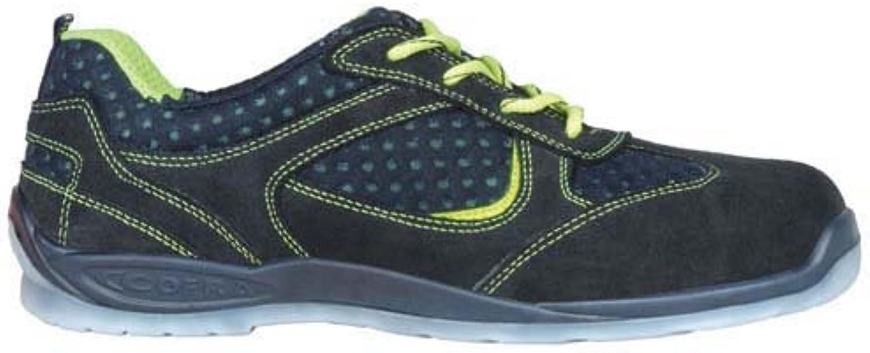 Cofra 11640 – 000.w43 zapatos,Maslow, tamaño 9, color azul/amarillo