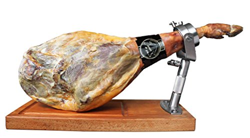 Prosciutto crudo Semi grasso di Guijuelo elaborato in modo tradizionale. Stagionamento minimo 1 mesi in cantina e peso da 7 a 7,5