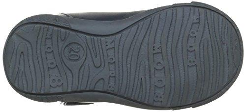 Mod8 Kloklo, Chaussures Premiers Pas Bébé Fille Bleu (Marine imprimé)