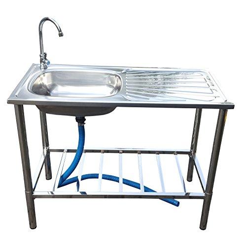 Fachhandel-Plus das Plus für Ihren Einkauf Outdoor Gartenspüle Küchenspüle Campingküche Campingspüle Gartenwaschbecken Spülstein NEU