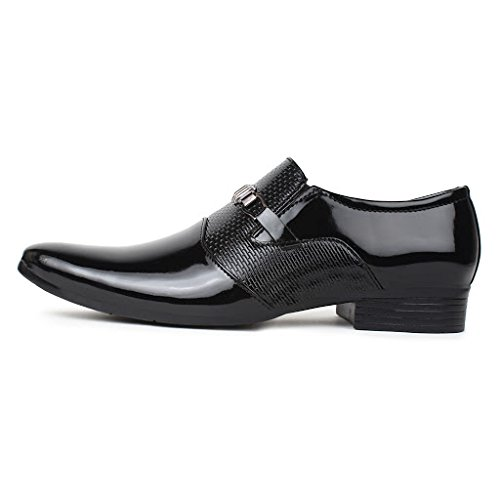 Buwch Men's Black Formal Shoe - 8 Uk