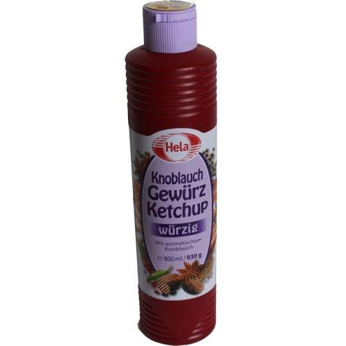 Hela Knoblauch Gewürz Ketchup 800ml