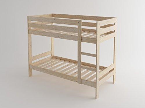 Litera de madera maciza