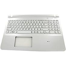 Sony A1960326A Carcasa con teclado refacción para notebook - Componente para ordenador portátil (Carcasa con teclado, Inglés de EE. UU., Sony, Vaio SVF152C29M, SVF1521A1EW, SVF1521A1EW)
