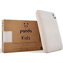 Panda Kids Luxury Memory Foam Bamboo Pillow (4+ Years)