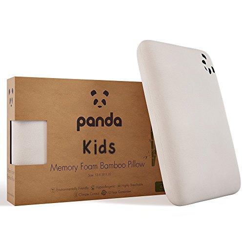 Panda - Almohada de bambú de viscoelastica para niños (más de 4 años)