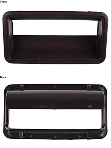 1988-2000 Chevy / GMC C/K Series Pickup Truck Outside Outer Exterior Black Tailgate Handle Bezel (1988 88 1989 89 1990 90 1991 91 1992 92 1993 93 1994 94 1995 95 1996 96 1997 97 1998 98 1999 99 2000 00) by Aftermarket Auto Parts
