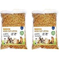 Wisdom Wood Cat Litter 5 KG - Pack of Two (10 KG)