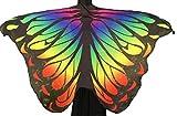 Lelike Karneval Kostüm Damen Karnevalskostüm Schmetterling Kostüm Cosplay Kostüm Flügel