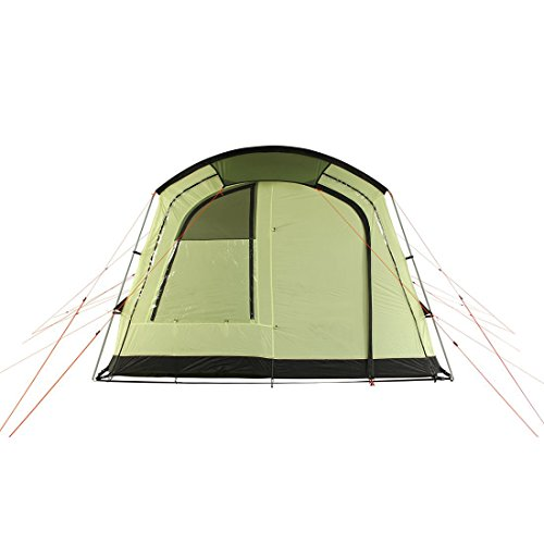 41UEW624QHL. SS500  - 10T Outdoor Equipment Unisex's Tropico 4 Tunnel Tent, Green, One Size/4 Persons