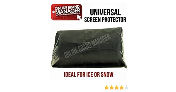 Ideal for Frost /& Snow Fiat Ducato Van Anti Frost Windscreen Cover Universal Fit Blue - 100/% Nylon