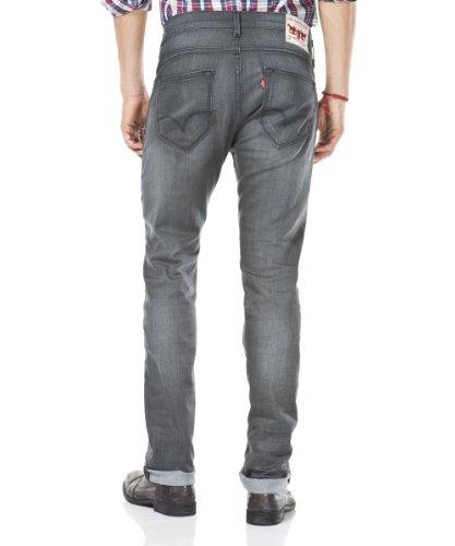 Levi's Herren Jeans 504 Regular Straight Fit Grau (Avatar Worn)