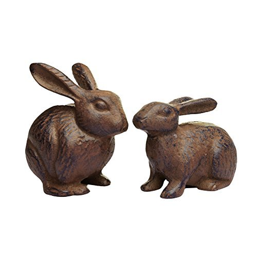 Rabbit Garden Ornaments Amazoncouk