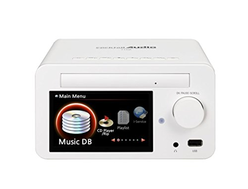 CocktailAudio X12 HiFi Audio System (60 Watt Verstärker, Netzwerk Streamer) weiß inkl. 4TB 3,5