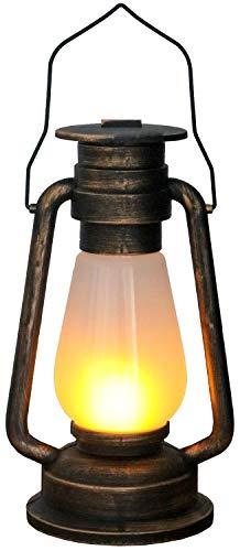 Tronje LED Lámpara de minero Aspecto Cobre 4h Temporizador 24 Leds Simula...