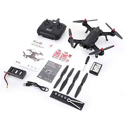 Yaoaoesn MJX Bugs 6 B6 2.4GHz 4CH 6 Eje Gyro premontado RTF Racing Drone de Alta Velocidad 1806 1800KV Motor sin escobillas RC Quadcopter